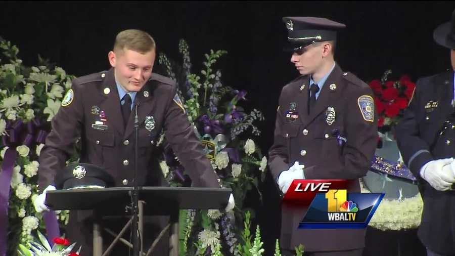 "Bryan and Tyler Dailey remember their father, Harford County Sheriff's Office Senior Deputy Patrick Dailey, who was killed in the line of duty on Feb. 10 in Abingdon.  ""I still want to be like my father. It will be an honor to be half the man that he was,"" Tyler Dailey said."