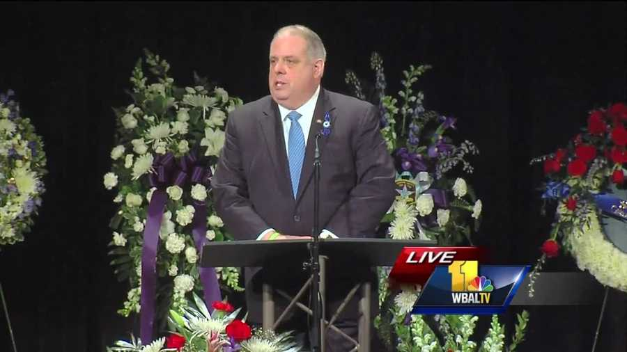 """His family should know he died doing what he loved and his sacrifice won't be forgotten,"" Gov. Larry Hogan said of Harford County Sheriff's Office Senior Deputy Jeffrey Gahler."