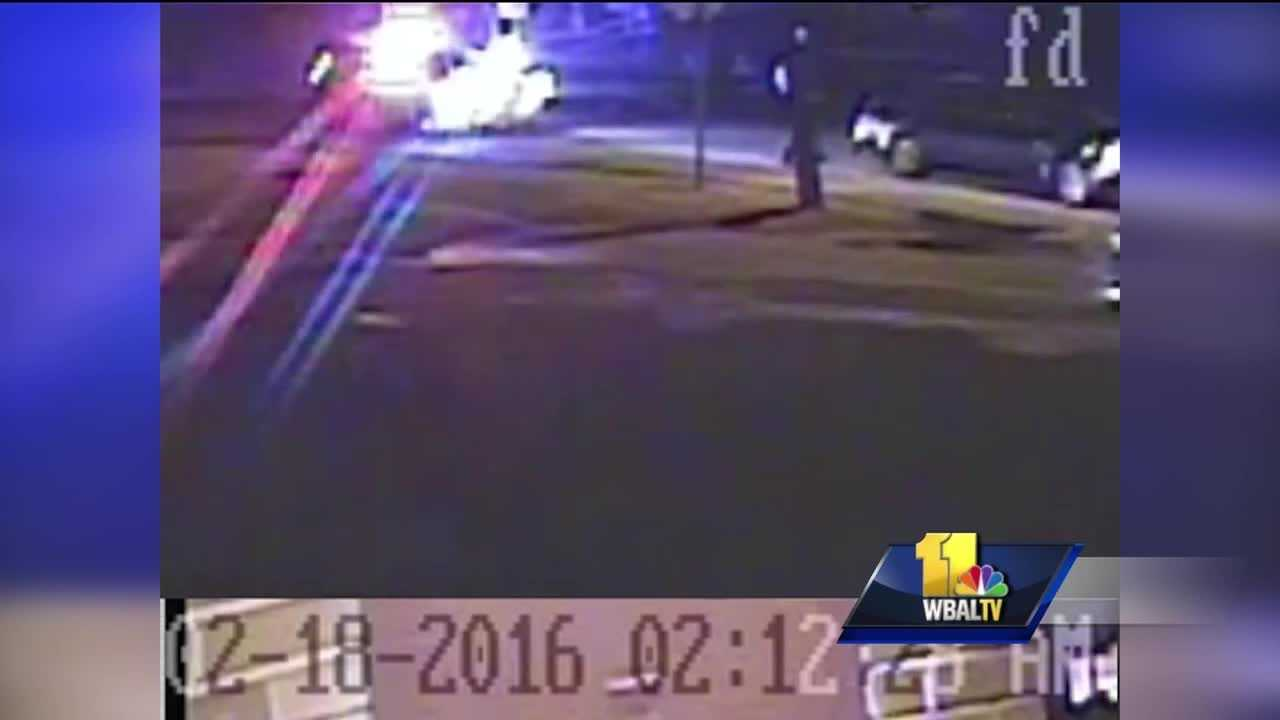 Baltimore County police release video of a police-involved shooting last week in Middle River.