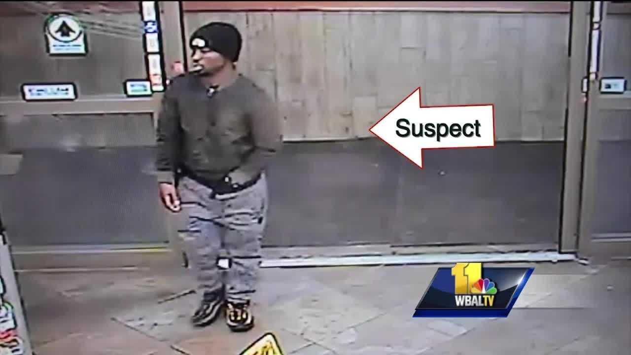 Baltimore police have released surveillance video of a man who they said sexually assaulted a woman earlier this month. Police said the attack was reported in the early hours of Feb. 9 on the 1400 block of Warner Street between the Horseshoe Casino and M&T Bank Stadium.