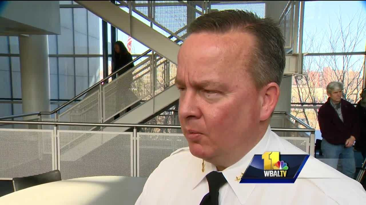 A new bill that would change state law governing police discipline and their rights is getting support from Baltimore's top cop. Baltimore Police Commissioner Kevin Davis will be among the witnesses Tuesday to argue against further influence by police unions in the disciplinary process. Last year's bill got nowhere. The proposal this year has broader support and is more far-reaching.