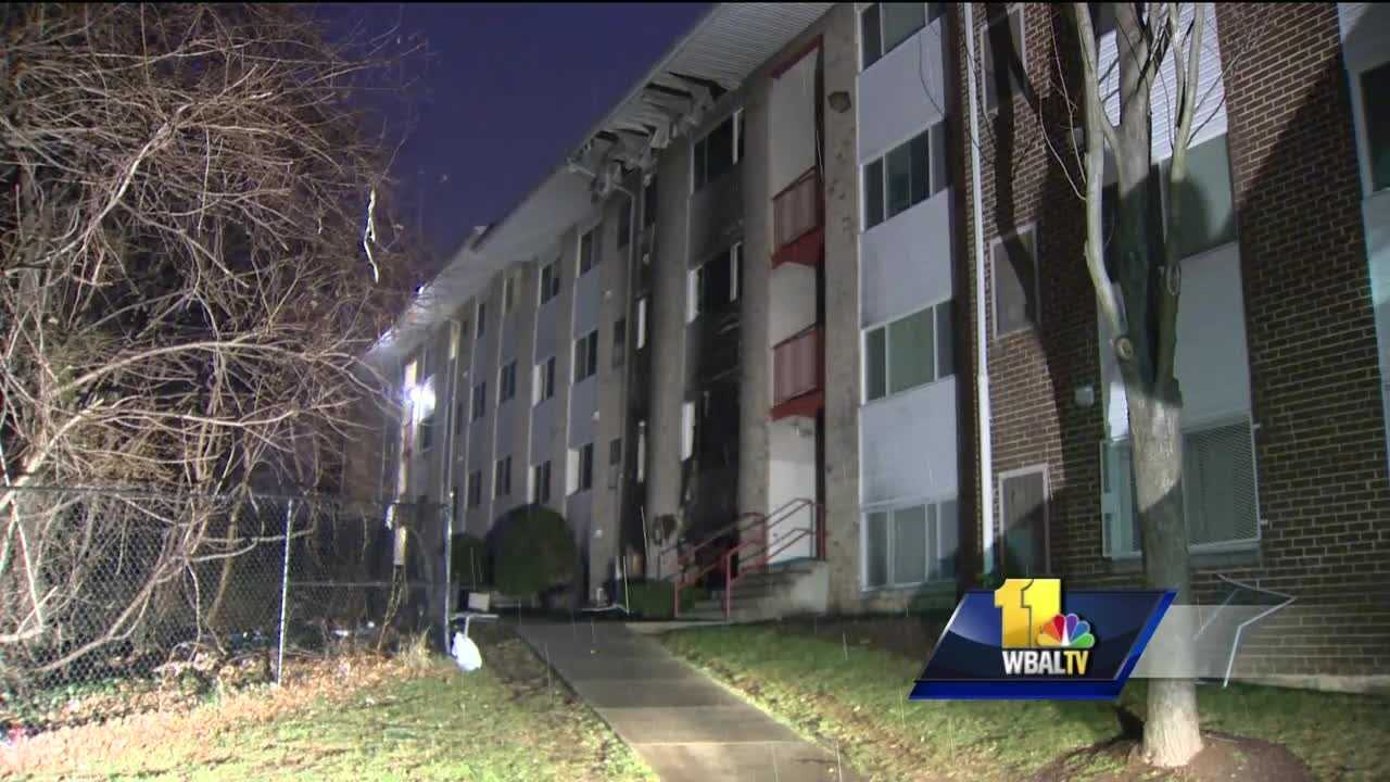 Nearly 50 people are without a home after a two-alarm fire ripped through a building at an apartment complex in Landsdowne early Tuesday morning.