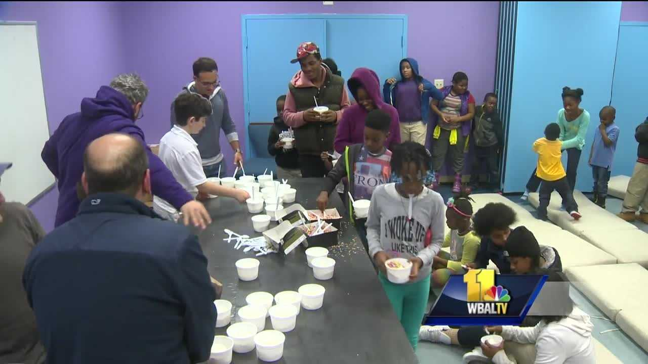 An ice cream party at the Penn North Kids Safe Zone focused on teaching neighborhood kids about success, respect and achievement. It's the kind of event that organizers say they need more of as they work to attract mentors to help with the program.