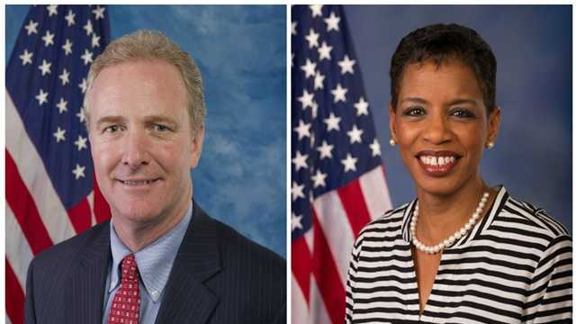 Rep. Chris Van Hollen and Rep. Donna Edwards are each seeking the Democratic nomination for U.S. Senate.