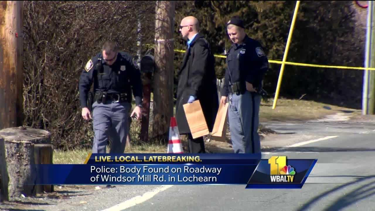 A 30-year-old man was died in an apparent hit-and-run Sunday in Lochearn, Baltimore County police said.
