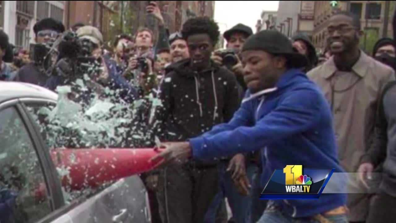 A high-profile case during April's unrest in Baltimore is now coming to an end. On Monday, a teenager caught on camera damaging a police car with a construction cone pleaded guilty. He also apologized.