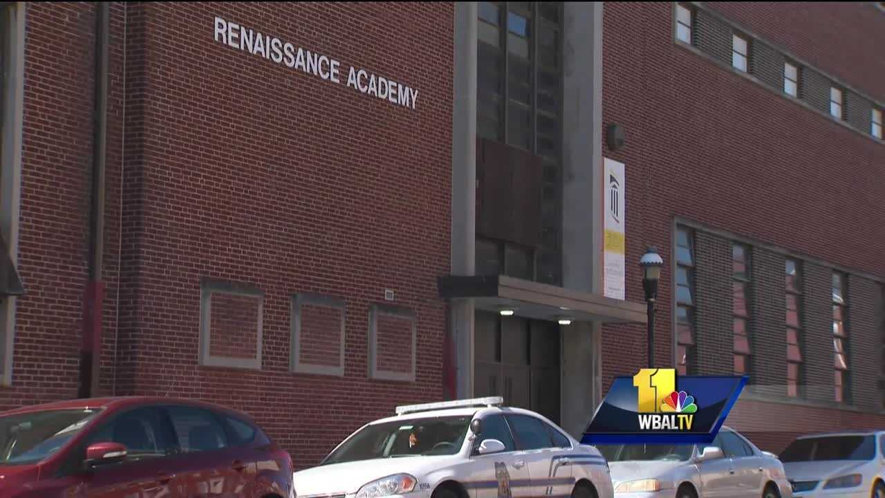 Once again tragedy has struck the student body at Renaissance Academy, a second chance west Baltimore high school.