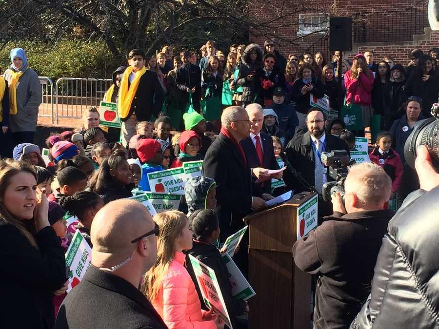 March 2:Non public schools advocacy day rally.