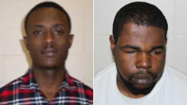 Calcius Agyemang-Asirifi (left), James Okoro (right)