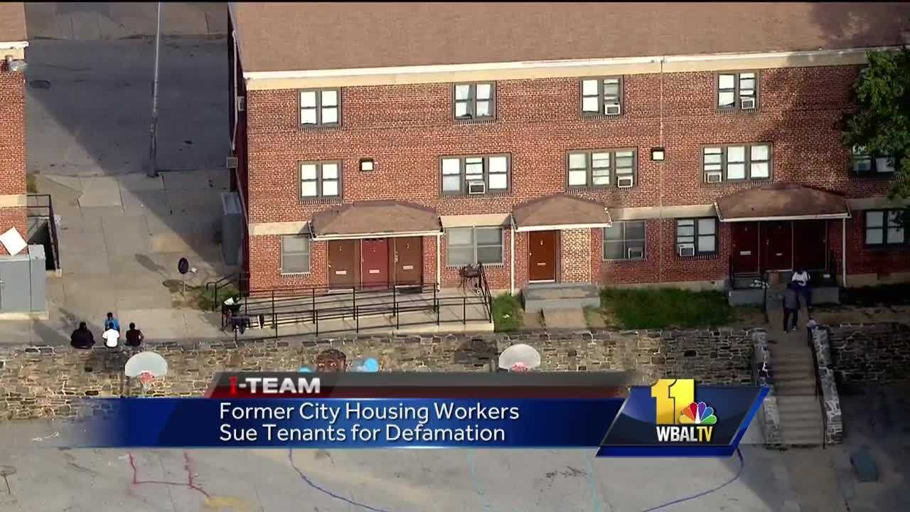 Two former Baltimore City housing workers involved in a sex-for-repairs scandal are suing the women who accused them. The maintenance employees filed a defamation lawsuit Thursday against 17 women, claiming they were fired from their jobs based on false allegations. The two former maintenance workers said they have suffered mental anguish and personal humiliation. They said they are seen as sexual predators, and that is why they are filing suit.