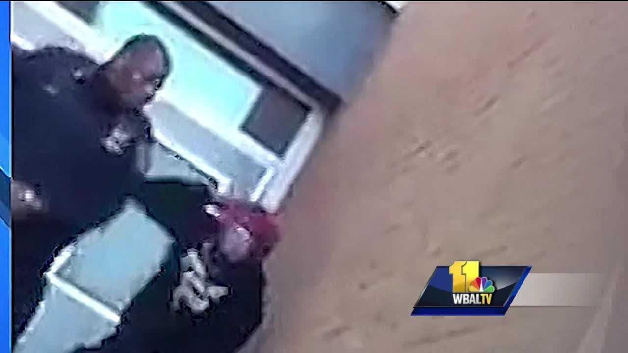 A state lawmaker is calling for change at the top of the Baltimore City Public Schools. This comes after school officials now say the young man seen in video appearing to get slapped and kicked by a school police officer is indeed a student at the REACH Partnership School. It took four days, but the city school system now says the young man seen in video appearing to get slapped and kicked by school police Officer Anthony Spence is not an intruder, as the system initially called him. He is a student enrolled at the school.