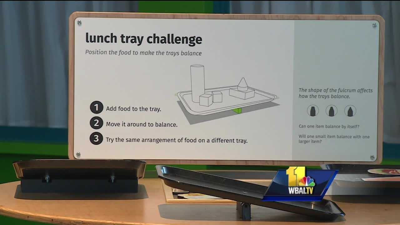 The exhibit at the Maryland Science Center tries to make science hands-on and something children can relate to and have fun with.