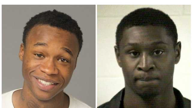 Dangleo Myers, 19, and Adrian Lavergne, 25, are charged with armed robbery, robbery and assault charges associated with a Feb. 28 incident in Severn.