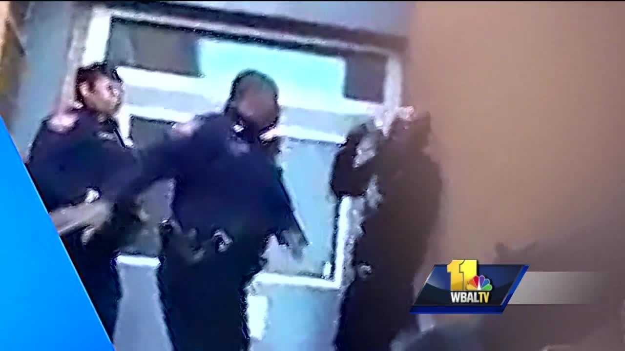The discussion surrounding the four-second video of a city school police officer striking a student continued Monday night. Baltimore City Schools CEO Dr. Gregory Thornton talked about the incident with parents at REACH Partnership School during a meeting Monday night.