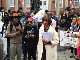 March 8: State Sen. Catherine Pugh on Expungement Day.