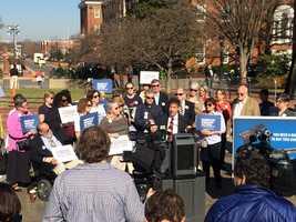 March 9:Moms demand action on gun bills