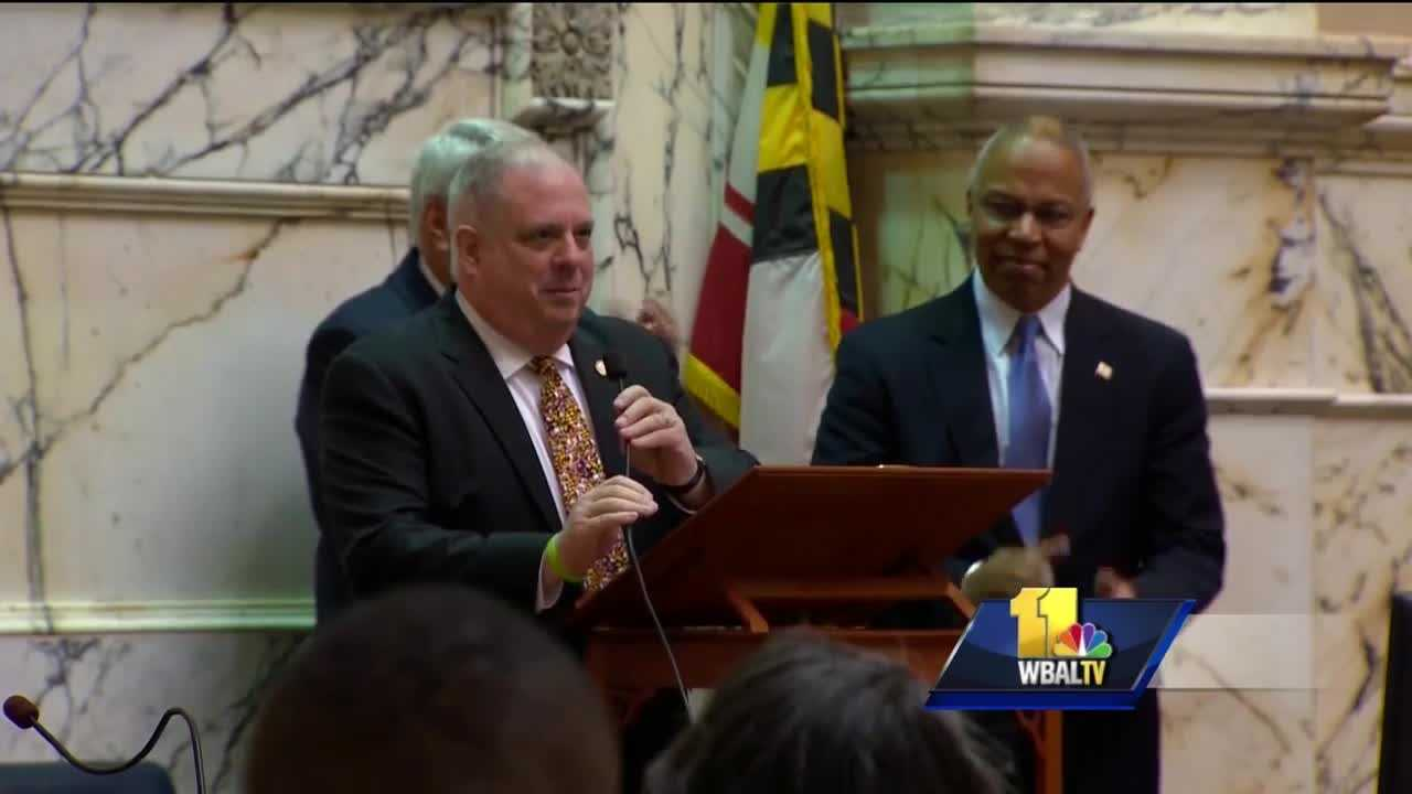 Gov. Larry Hogan is allocating more money for education and heroin treatment. Hogan on Thursday announced $13.8 million in additional one-time K-12 funding, including $12.7 million for Baltimore City schools and $1.1 million for Calvert County schools.