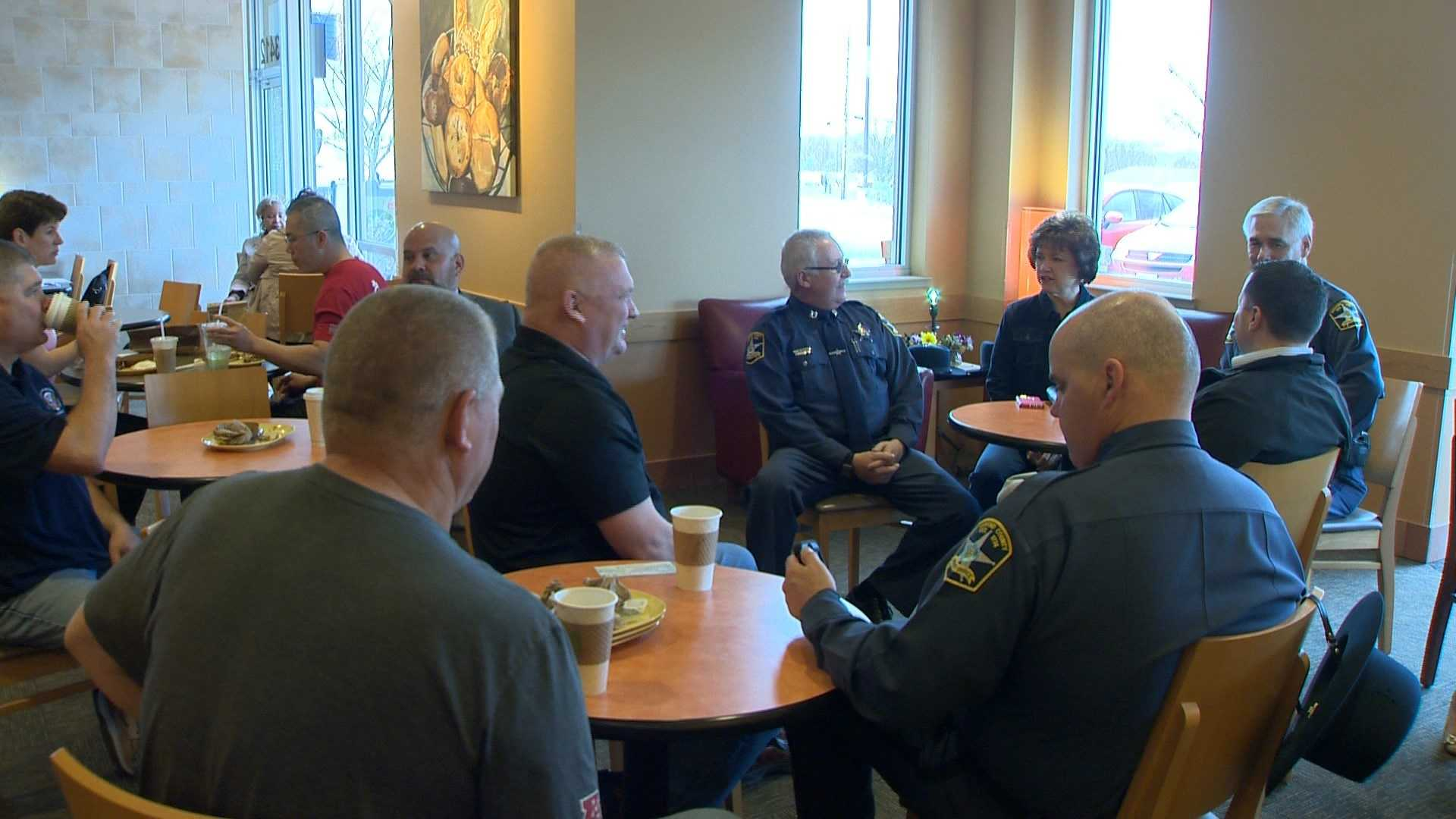 The Panera Bread in Abingdon will donate 100 percent of its sales from this weekend to the Harford County Deputy Sheriff Benevolent Fund. The gesture is in tribute to Harford County Sheriff's Office Senior Deputy Patrick Dailey and Deputy First Class Mark Logsdon who were killed in the line of duty on Feb. 10, 2016.