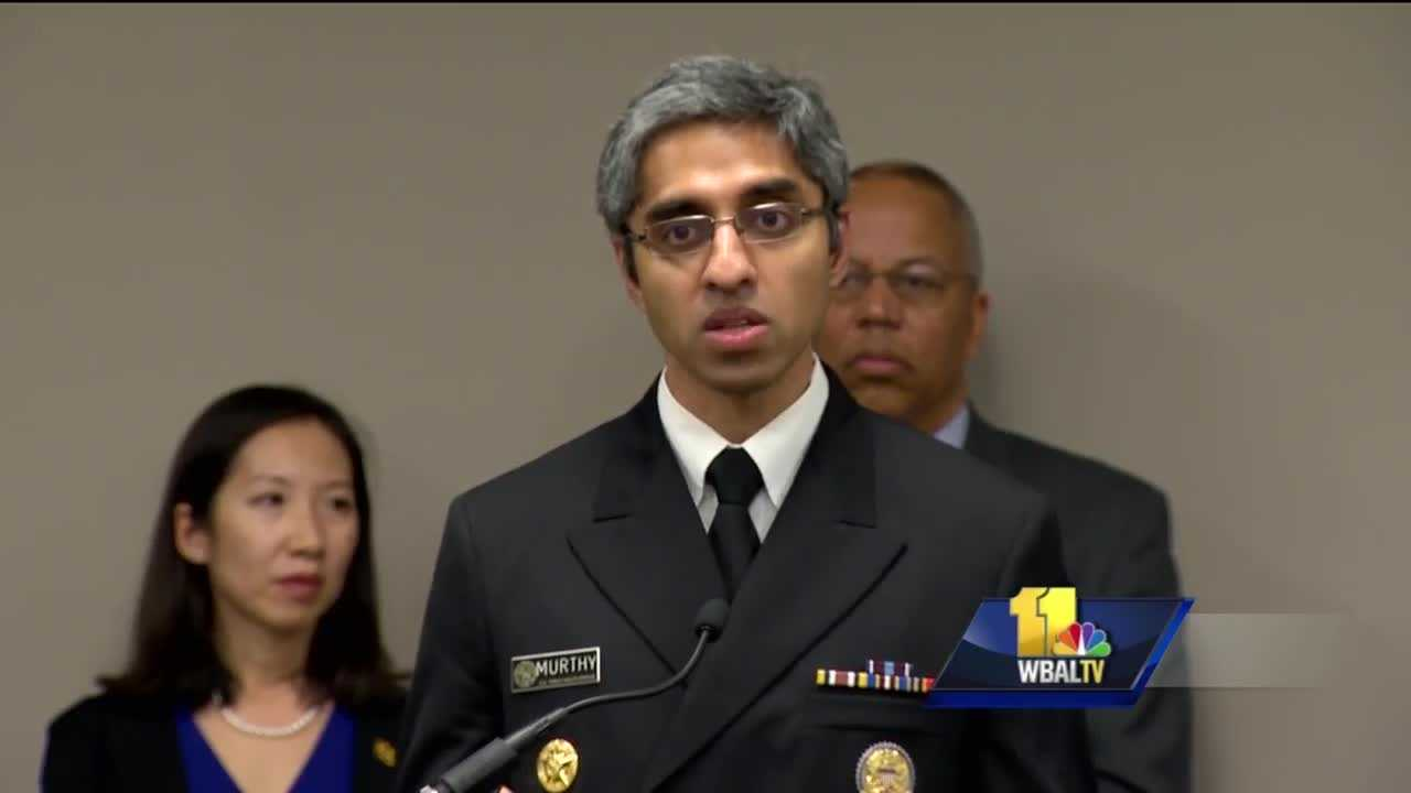 Federal officials announced Friday in Baltimore a major grant to fight opioid addiction across the country. Of the nearly $94 million announced by the U.S. Surgeon General, Maryland will get about $1.8 million to be shared by five health centers, three of which are in Baltimore City. Charles Jones bravely stood up in front of a room full of federal, state and local leaders Friday to tell his story about how heroin took him from being an elementary school teacher to a 54-year-old who has spent half his life struggling with addiction.