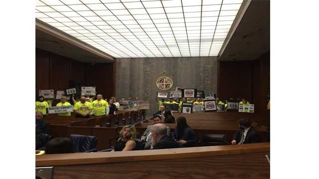 Residents from eastern Baltimore County gathered March 7 at the Baltimore County Council meeting in Towson to express concerns over rats in their communities.