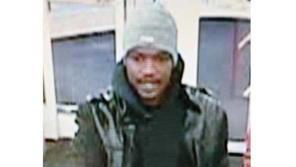 Police are asking for the public's help to identify a man wanted in connection with a robbery at a CVS store.