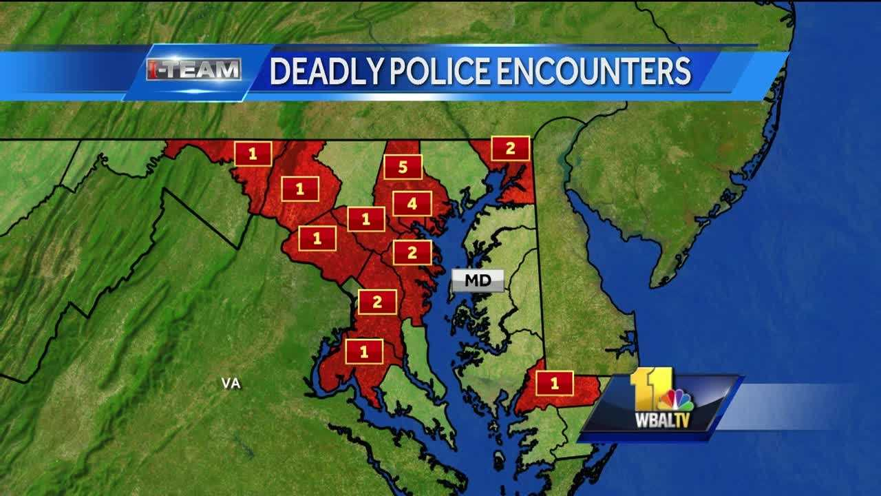 The American Civil Liberties Union said Tuesday that last year 21 people in Maryland died as a result of encounters with police. Freddie Gray was one of them. These deaths happened statewide. The ACLU of Maryland report said of those 21 people who died in encounters with police, 81 percent of them were black and nearly half of them were unarmed.