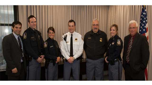 The Landsman family has had a member working as a police officer almost continuously since 1936.