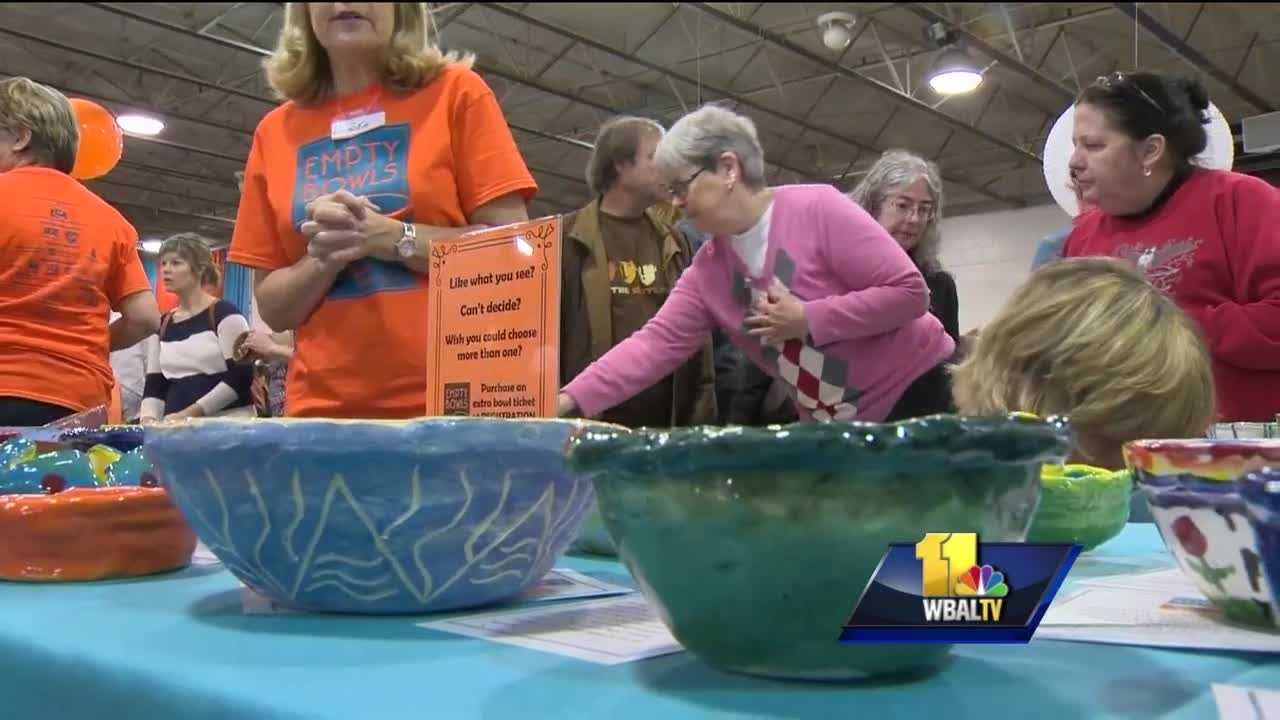 From helping people find jobs to giving kids a head start, the Empty Bowls fundraiser does a lot for the community. The event, set for this weekend at the Maryland State Fairgrounds in Timonium, is also a way to help families stay together.