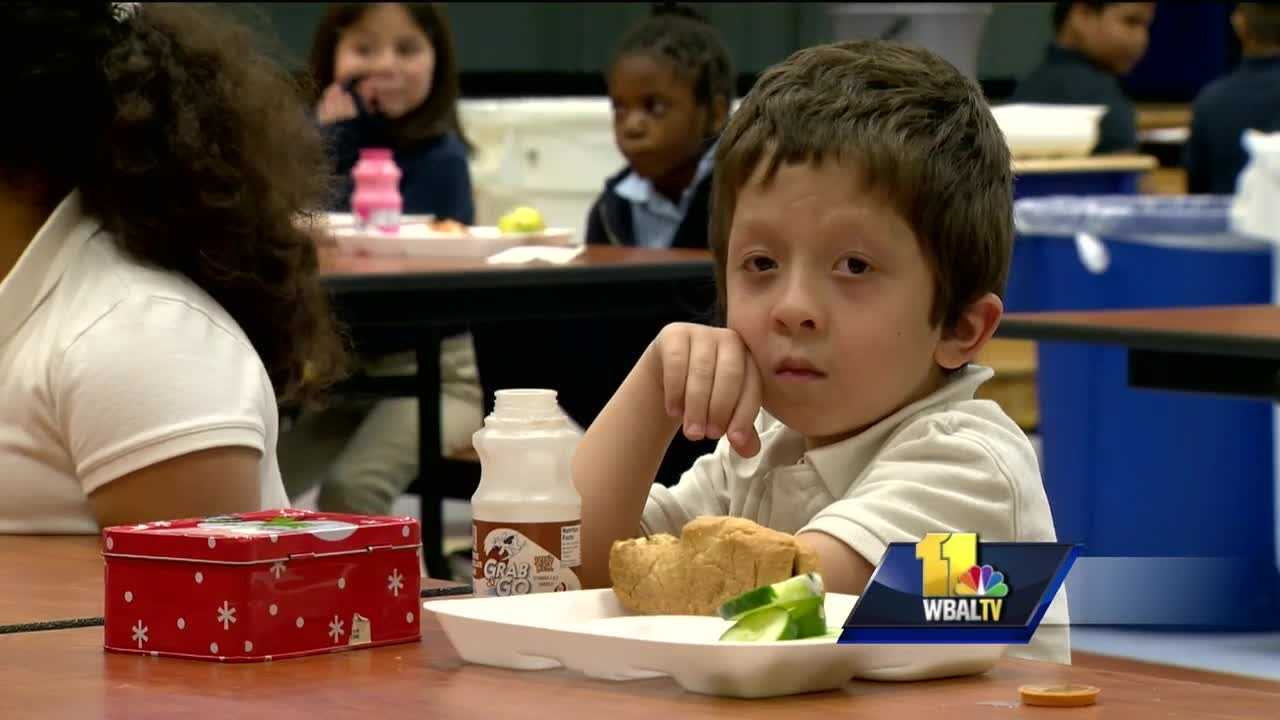 An alert lunch monitor spotted trouble and saved the day and a first-grader at Mills Parole Elementary School. Lunch is one of the busiest times of the day for students, filing into the cafeteria to eat. But a few days ago, 7-year-old Brody Wilcher had the scare of his life.