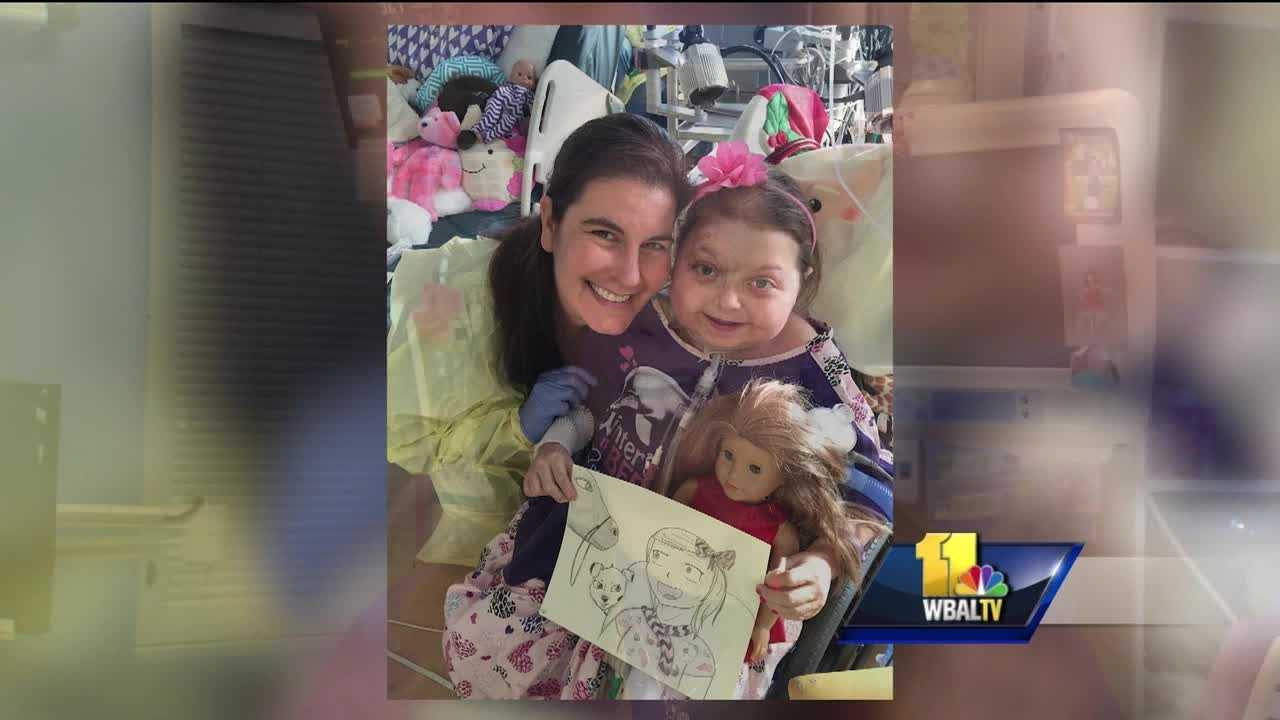 An 8-year-old girl who spent almost two years in the hospital is finally going home. Reese Burdette was badly burned in a fire 22 months ago, but no one had any idea she would be in the hospital that long. Reese suffered burns over 35 percent of her body, and her heart and lungs were so devastated from smoke, the pediatric trauma team at Johns Hopkins Children's Center put Reese on a heart and lung bypass system.