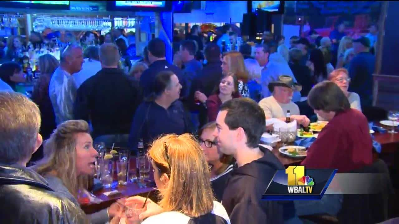 "Customers packed two Bel Air restaurants on Sunday to support the families of two Harford County Sheriff's deputies killed in the line of duty last month. Those who attended the event said it was the latest example of the community demonstrating the meaning of ""Harford Strong."""