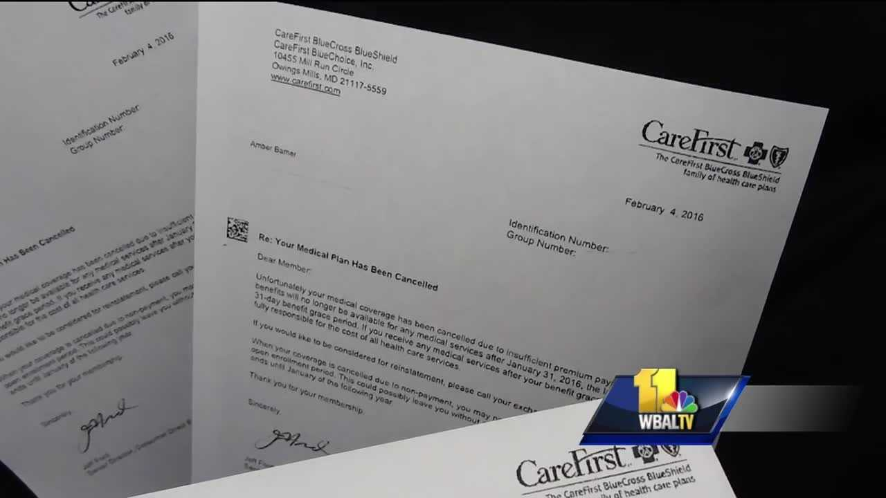 Making their health a priority, many Marylanders applied for insurance through the Maryland Health Benefit Exchange. But some people told the 11 News I-Team they quickly lost their coverage literally over a few cents.