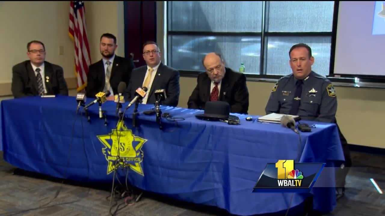 Officials released more information about an investigation into the deaths of two Harford County deputies who were killed in the line of duty in February. Harford County Sheriff Jeffrey R. Gahler held a news conference Tuesday afternoon to discuss the investigation of the shootings by David Evans which claimed the lives of Senior Deputy Patrick Dailey and Deputy First Class Mark Logsdon.