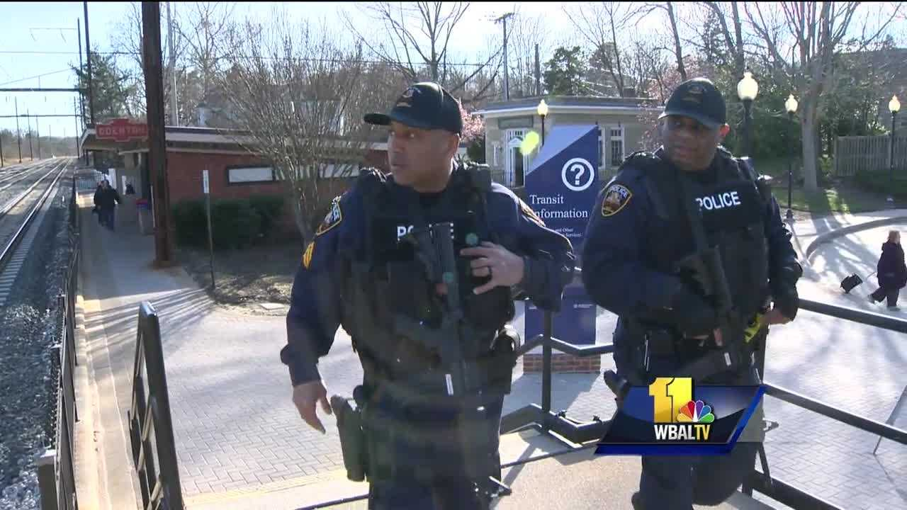 Transportation hubs across the U.S. were on heightened alert following the Brussels bombings. This was also true in Maryland where police are keeping a close watch over BWI Thurgood Marshall Airport, train stations and buses.
