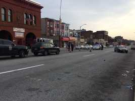City police are investigating a Wednesday morning accident involving a pedestrian in west Baltimore.