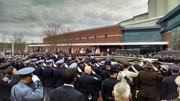 A final salute to Prince George's County police Officer Jacai Colson