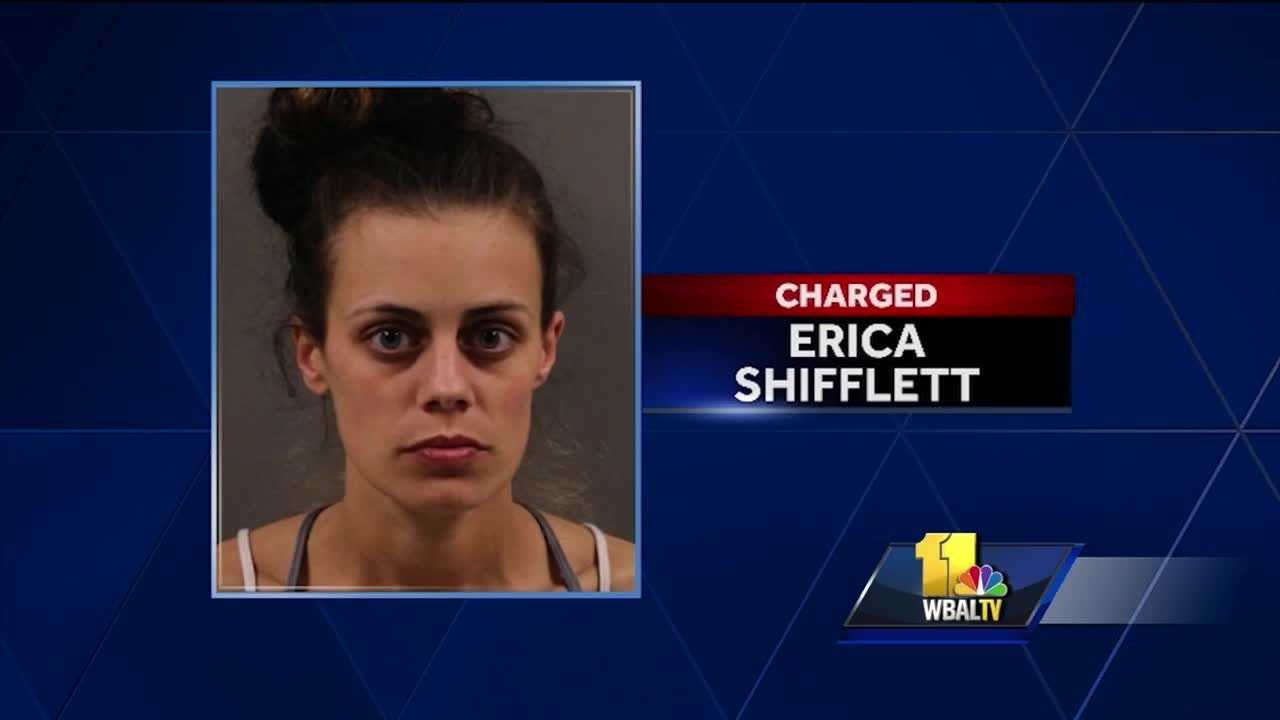 A woman is in police custody after police said she shot her husband and 7-year-old son Saturday night. Baltimore County police said the woman, identified as Erica Nicole Shifflett, 30, was taken into custody. Police said she arrived at about 7 p.m. at a house in the 7300 block of School Avenue in Dundalk to take the couple's son and got into a fight with her husband over custody of the boy.