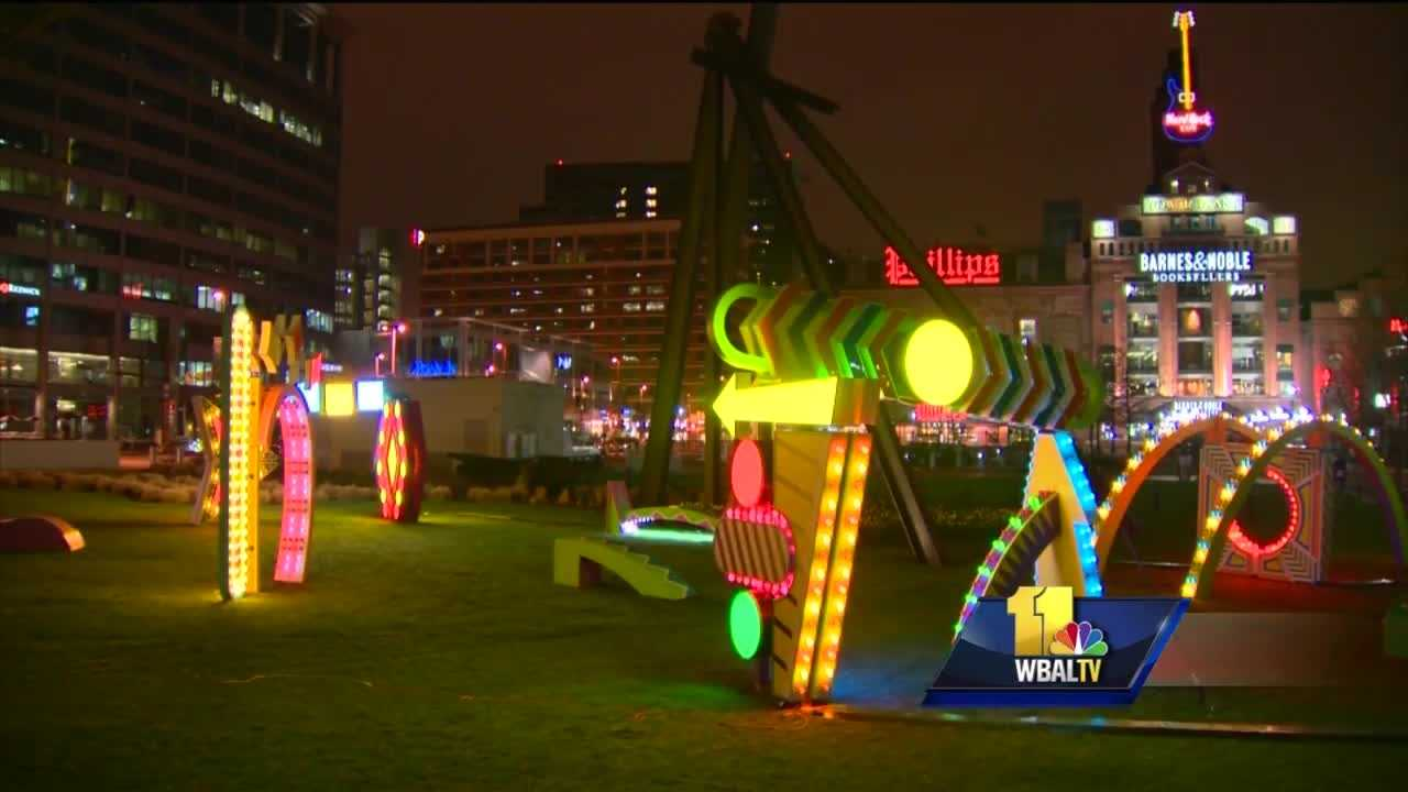What's quiet during the day comes alive at night, and just a few days into its inaugural run, organizers said Light City Baltimore is exceeding expectations.