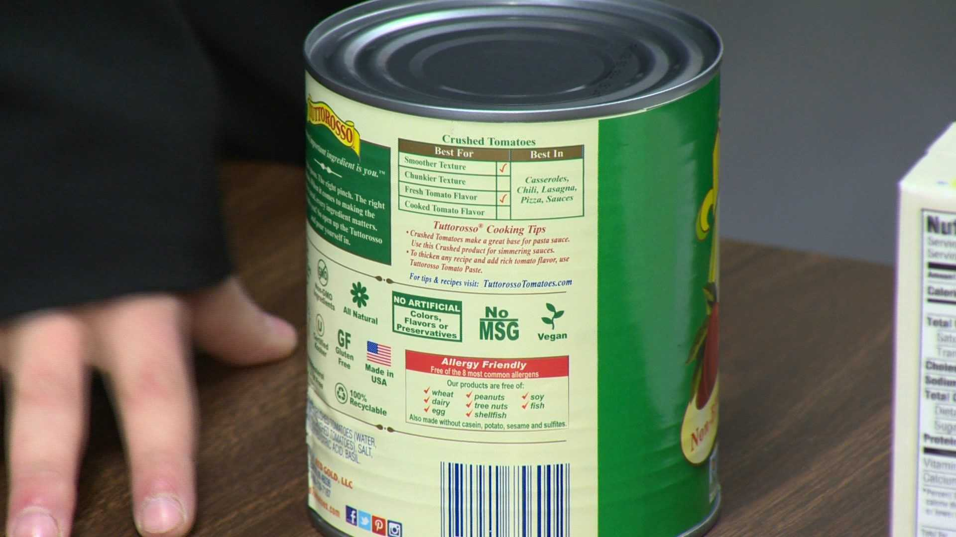A new study found that two out of every cans of canned food contain BPA in it.