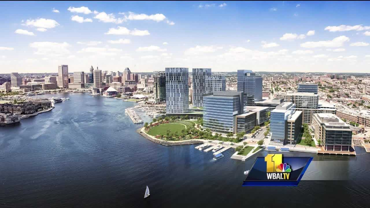 More development in Baltimore is raising new questions about the source of the funding. The new 27-acre waterfront Harbor Point development between Fells Point and Harbor East will include retail space, offices, apartments and park space. The city is also planning to build a bridge, but some are wondering who will pay for it. The bridge will carry Central Avenue over the water and connect to the Harbor Point development.