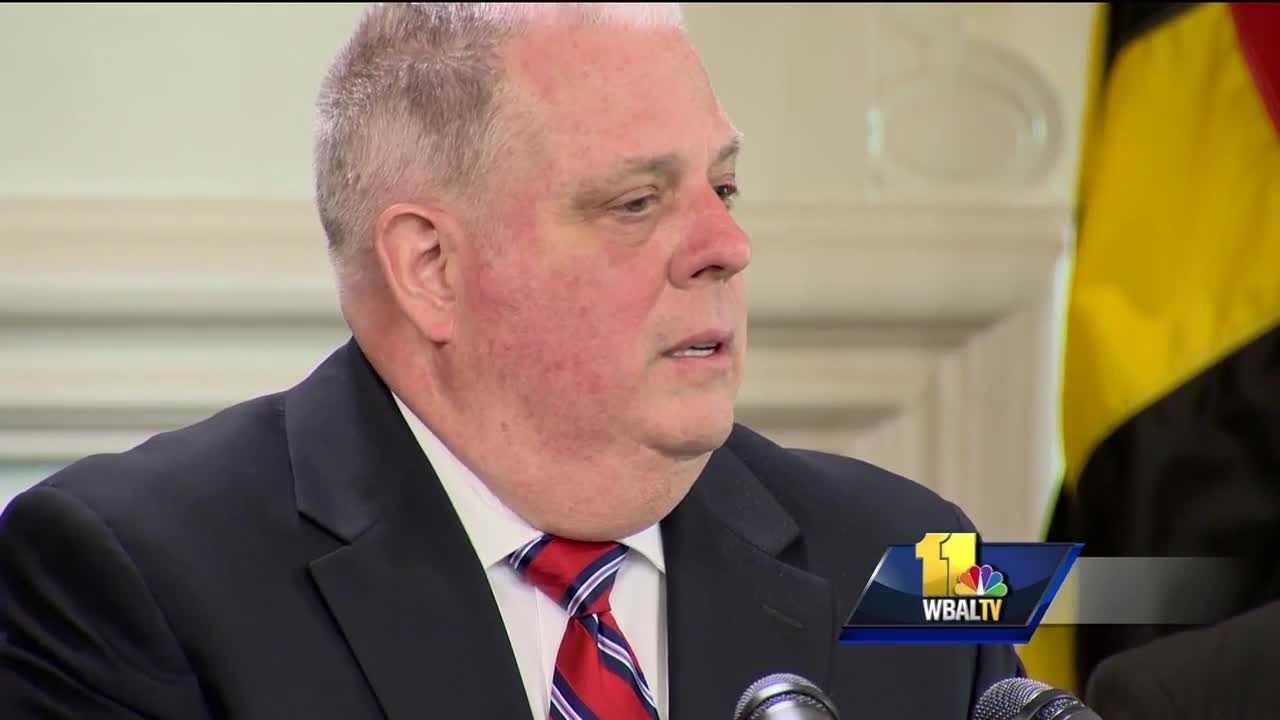 The governor provided an assessment Tuesday of his second legislative session. Of 30 bills that have already landed on Gov. Larry Hogan's desk this session, he has signed three, vetoed two and will let the rest go into law without his signature. Bills that will take effect without the governor's signature includes those mandating funds to demolish vacant buildings in Baltimore City, something his administration is already committed to do through policy.