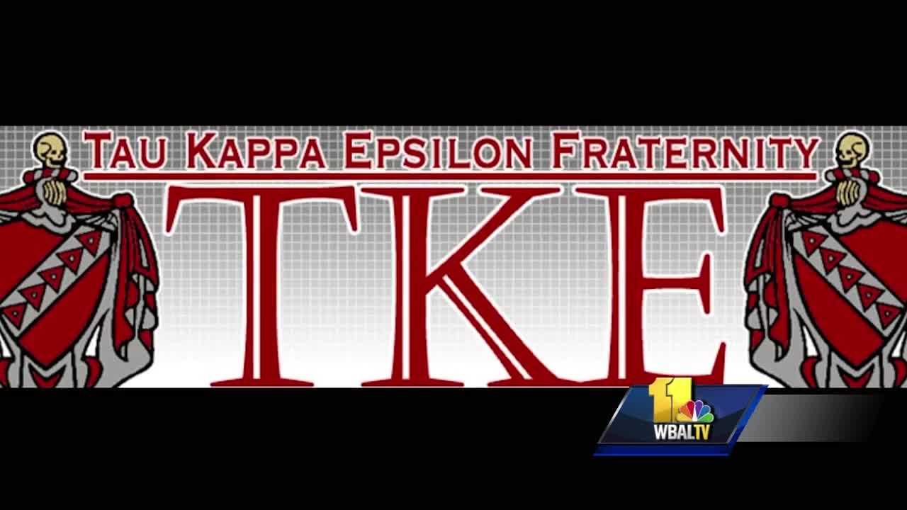 Towson University officials confirm they are looking into allegations of hazing that left a person hospitalized. The school said it is working with Baltimore County police to investigate the incident and added that it may have happened off campus. School officials did not provide the alleged victim's name or the organization being accused of hazing. However, the national chapter of the Tau Kappa Epsilon fraternity told 11 News that its Towson chapter has been temporarily suspended.