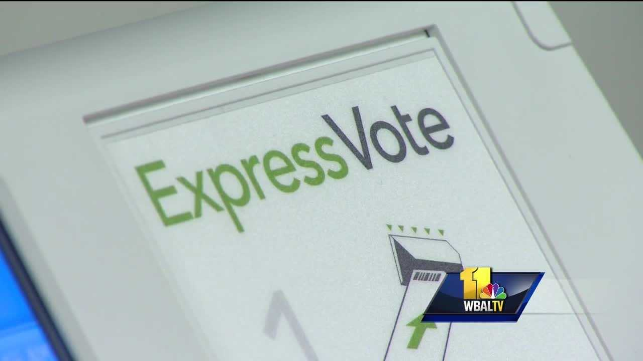 Early voting starts next week, and if you still haven't registered, you can still do so for a limited time. Election officials are reminding voters that when they go to the polls, the way in which they will cast ballots has changed. There are six early voting locations in Baltimore City. If you have not yet registered to vote, you can do so during early voting with conditions.