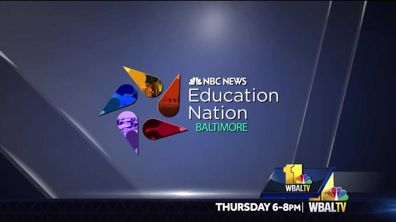 There is no doubt that one of the most valuable tools we can provide our children is a quality education. For that reason, WBAL-TV and NBC News are convening parents, teachers, policy makers and students for a live two-hour forum next Thursday at the Baltimore Museum of Art. Education Nation, Supporting Our Students will discuss issues from parent engagement to encouraging students to reach their full potential, while covering a wide range of issues faced by students across America.
