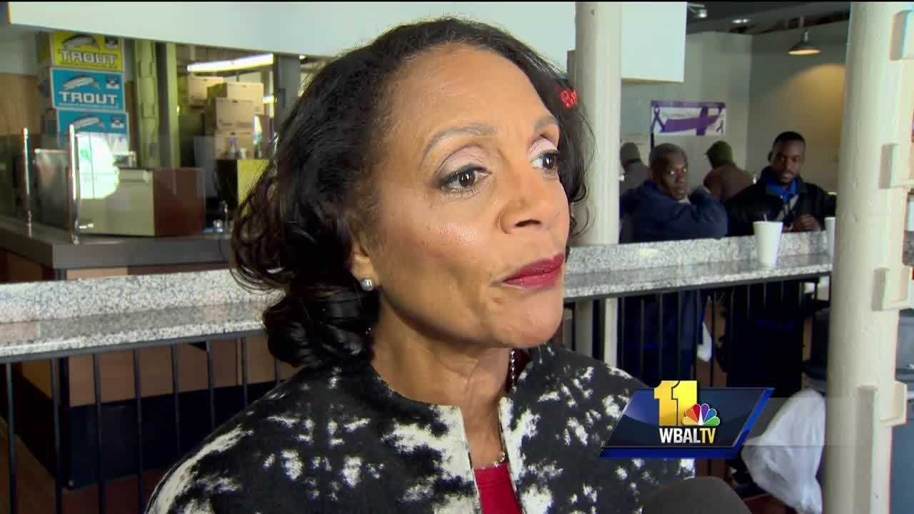Baltimore will hold its mayoral primary in two weeks and one day. In the crowded Democratic contest, former Mayor Sheila Dixon is a front-runner.