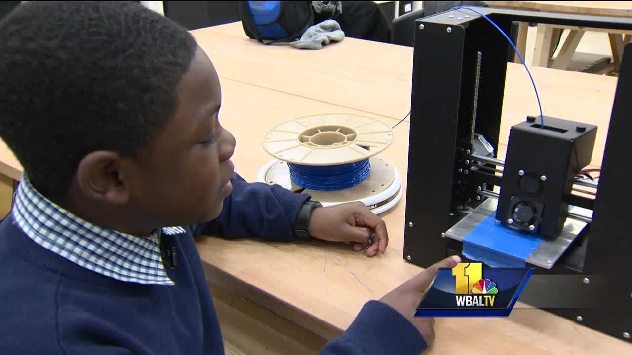 It's a love for innovation and 3D printing that's taking one Baltimore kid to some very high places. A year ago, 9-year-old Jacob Leggette wrote letters to various 3D printing companies offering his feedback on their products. In return, one sent him his very own printer. Now, Leggette has attracted attention from the White House.