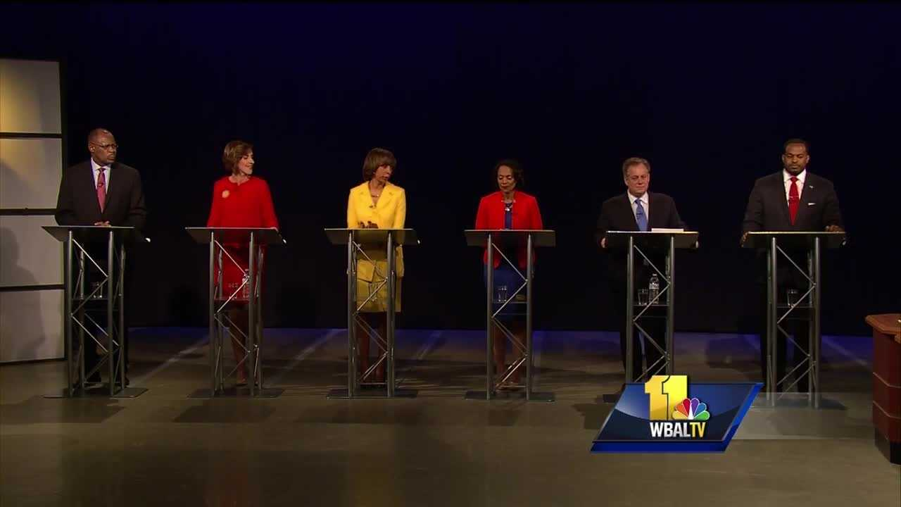 The top six Democratic candidates for Baltimore mayor didn't hold back in a debate Tuesday evening. The City Hall hopefuls addressed issues ranging from crime and housing to jobs and schools. The debate came two weeks before the primary election.