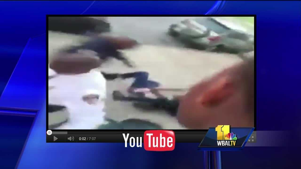 The arrest of a teenager caught on video is now the focus of an internal investigation by Baltimore police. A criminal charge against the teenager was dropped after police commanders decided the arrest Saturday evening was inappropriate to begin with. Police said officers went to an east Baltimore house to check on someone seen going in the back door. The man told officers he belonged in the house. An argument ensued between residents of the house and police. Residents told the officers they needed a warrant to come inside the house.
