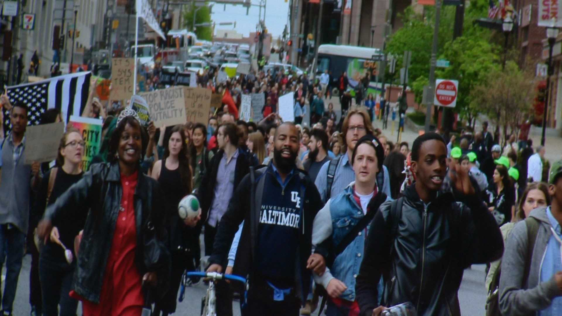 The Maryland Historical Society is developing a digital archive to preserve images, video and other media from the Baltimore unrest in 2015.