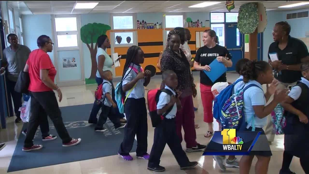 The Baltimore elementary school attended by Freddie Gray is getting help from the federal government to support children impacted by last April's riots. On the first day of classes last August, the city school CEO went door to door to walk students to nearby Matthew Henson Elementary School. Many of them showed up hoping to put behind them images from the riots.